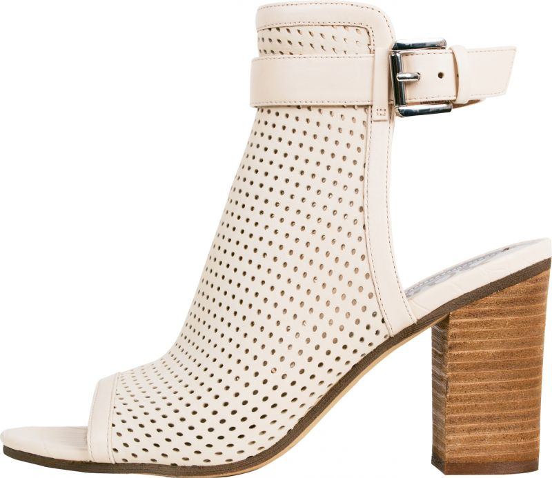 """1. Sam Edelman perforated leather """"Emmie"""" boot in """"summer sand,"""" $148 at Copper Penny Shooz"""