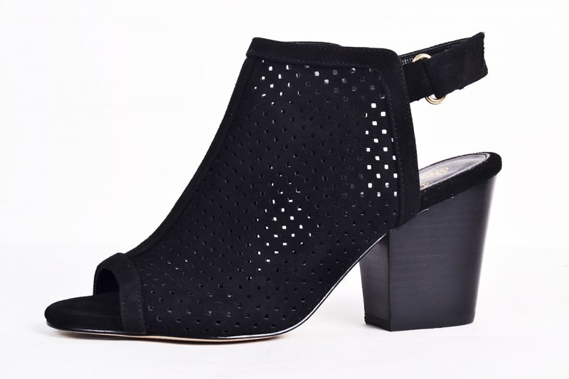 """Isola """"Lora"""" perforated suede slingback, $110 at Copper Penny Shooz"""