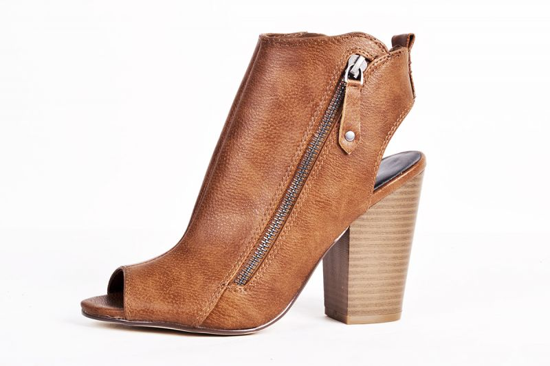 """Indigo Road """"Ismey"""" faux leather cut-out bootie, $59 at Belk"""