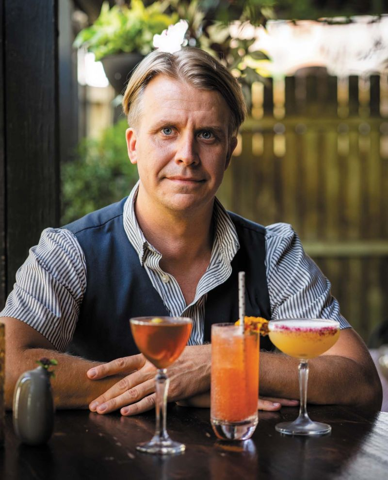 Coterie mixologist Jeremy Buck