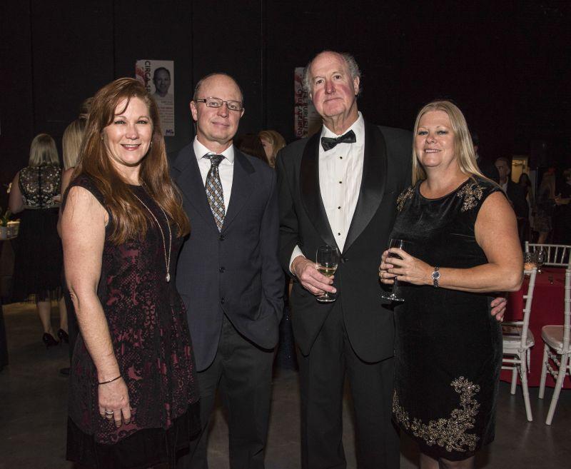 Barbara and John Taylor, Oliver Matthews, and Holly Hardie