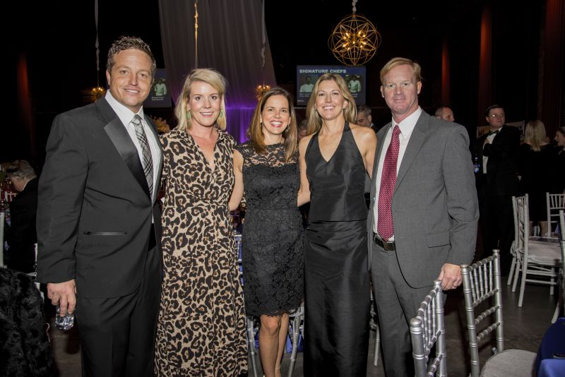 Wes and Susan Sellew, Maggie Bullwinkel, and Jennifer and Sumter DeBrex