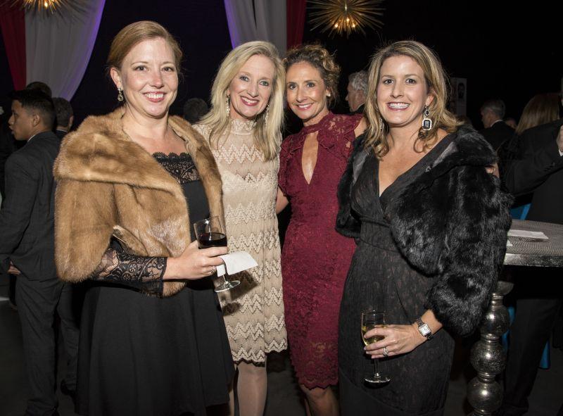 Kelly Nix, Angela Kordonis, Cameron Wannamaker, and Lauren Ditzler