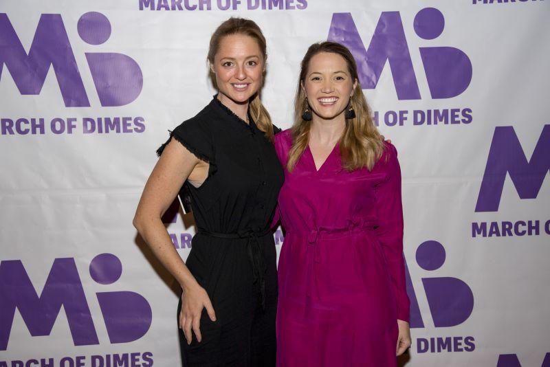 Mary Sterrett and Jenna MacLennan