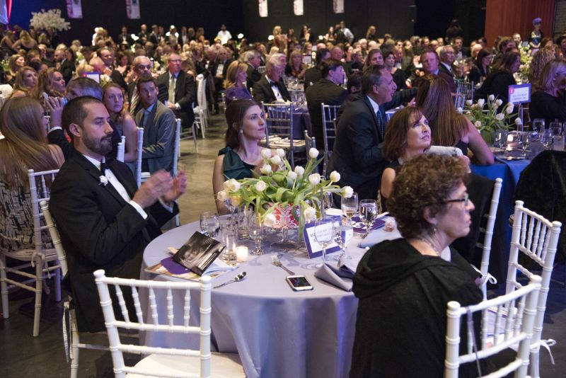 Attendees were riveted by ambassadors Nick and Alana Ronnquist's heartfelt testimony about their experiences with March of Dimes.