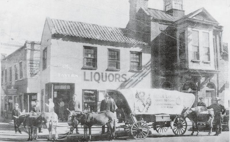 The liquor store circa 1930