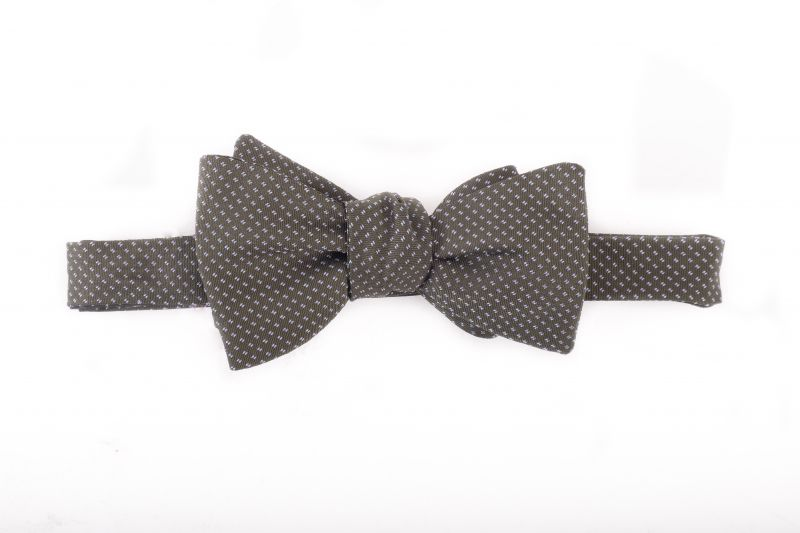 R. Hanauer silk bow tie, $75 at Grady Ervin & Co.