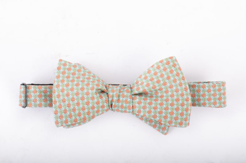 Peter Blair silk pineapple bow tie, $60 at Jordan Lash