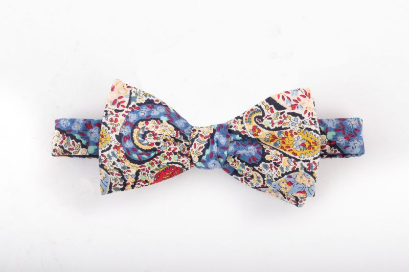 "Trumbull Rhodes ""Buckingham"" bow tie, $65 at Jordan Lash"