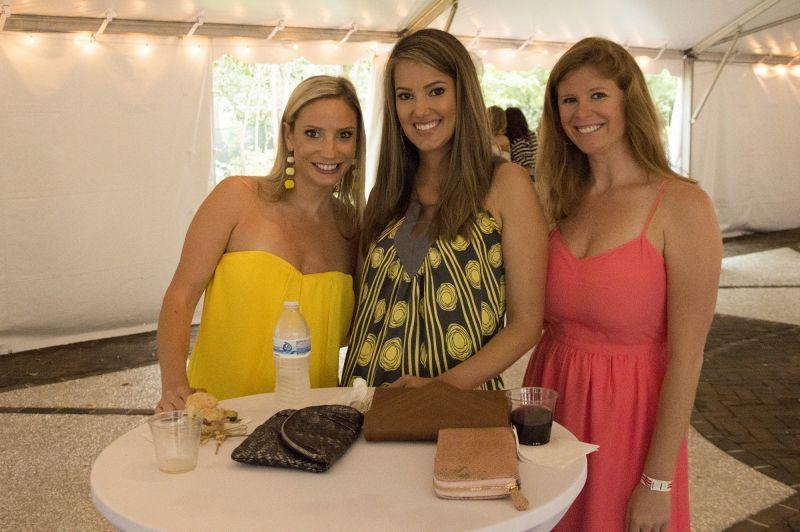 Sarah Hudgins, Lisa Sines, and Dana Scarborough