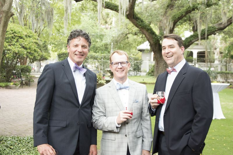 Alex Boyer, Jeff Armstrong, and Michael Frieling