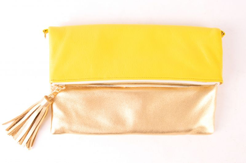"Beau & Ro Bag Company ""Sconse"" clutch and crossbody, $158 at Skinny Dip"