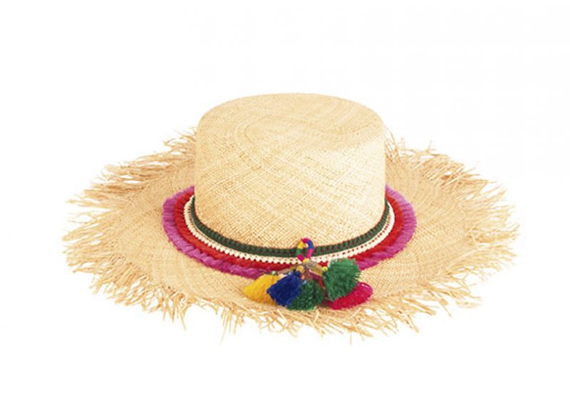 Scotch & Soda frayed hat with tassels, $98 at Gwynn's of Mount Pleasant