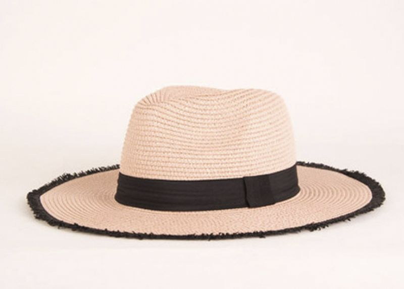 Maris Dehart straw hat, $34 at Maris Dehart