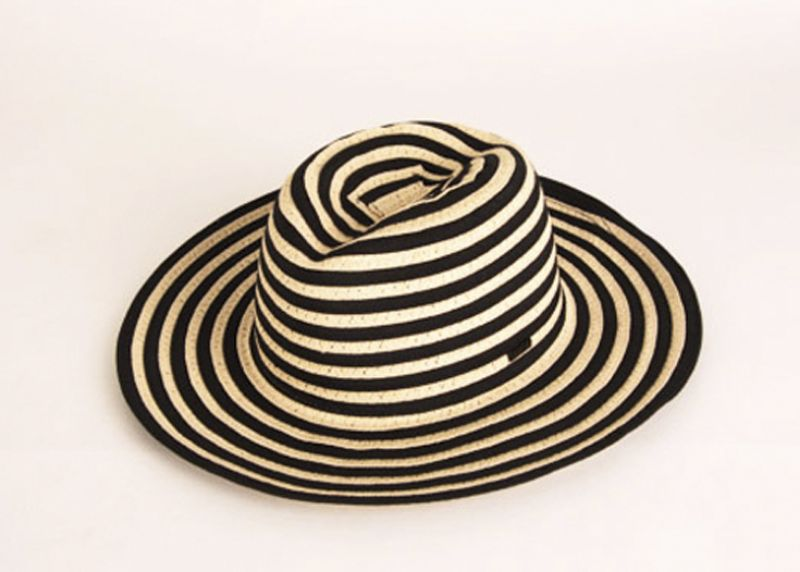 "RCVA ""Which Way"" boater hat, $39 at Channels"