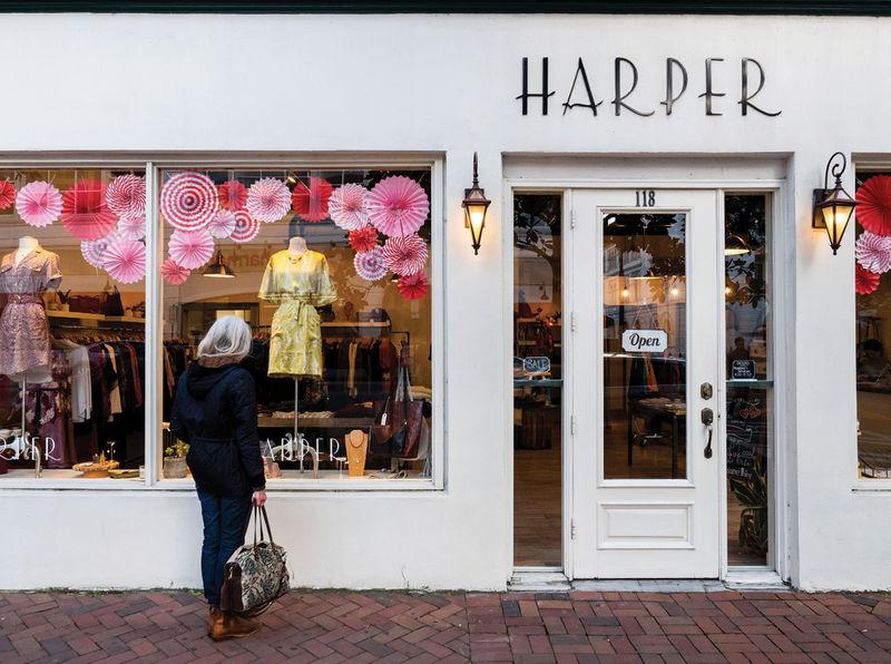 Harper boutique on Bull Street
