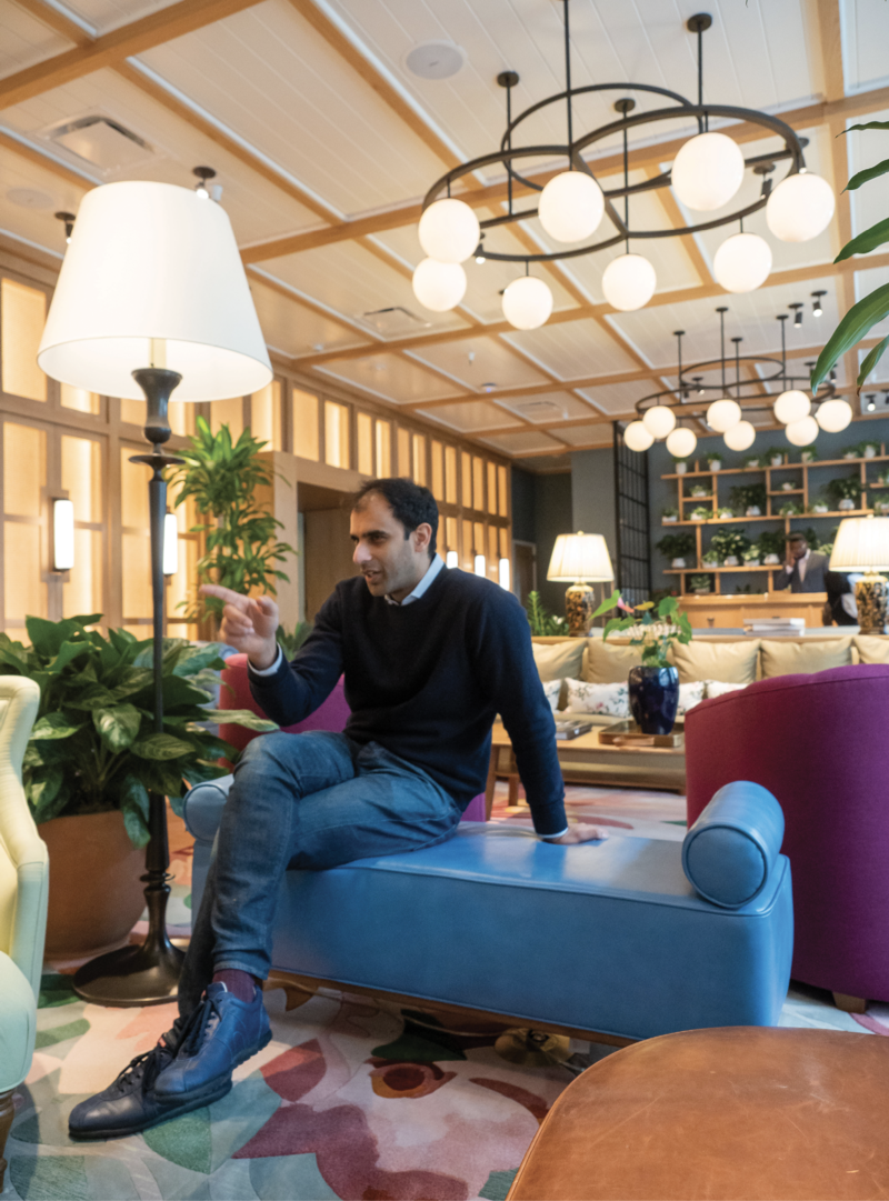 The Drayton Hotel opened in late fall 2019, the first property by hotelier Raghav Sapra.