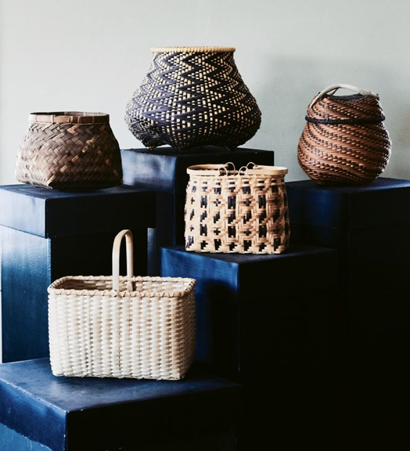 Enduring Form: Jackson reveres the versatility of this humble art form across cultures and centuries and collects baskets from around the globe.