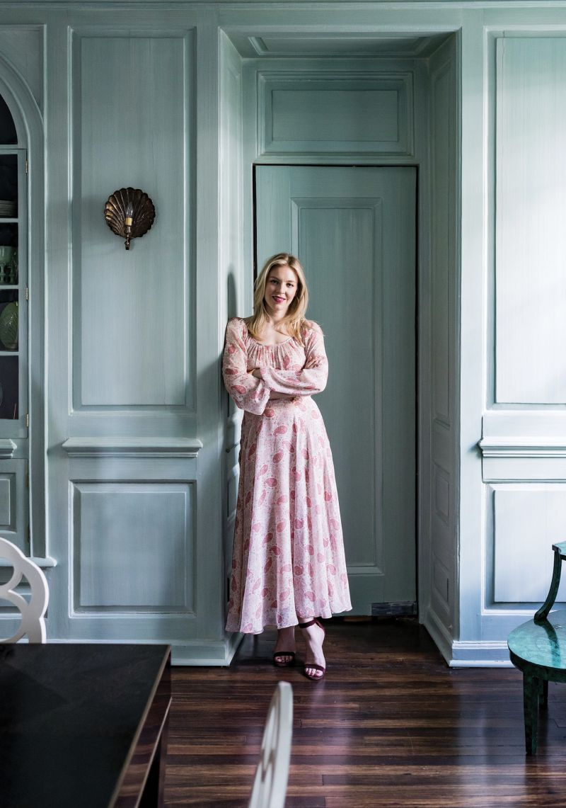 Ceara Donnelley (above in her downtown dining room) grew up visiting her grandparents' ACE Basin property and is the only one in the family to make Charleston her home base. Donnelley's full renovation of her historic home served as a design lab for Ceara Donnelley Ltd., her interior design studio.