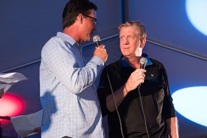 Rick Allen and Dennis Gallagher