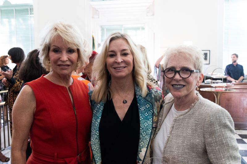 Madeline Stevens, Leigh Wilkes, and Elizabeth Sherman