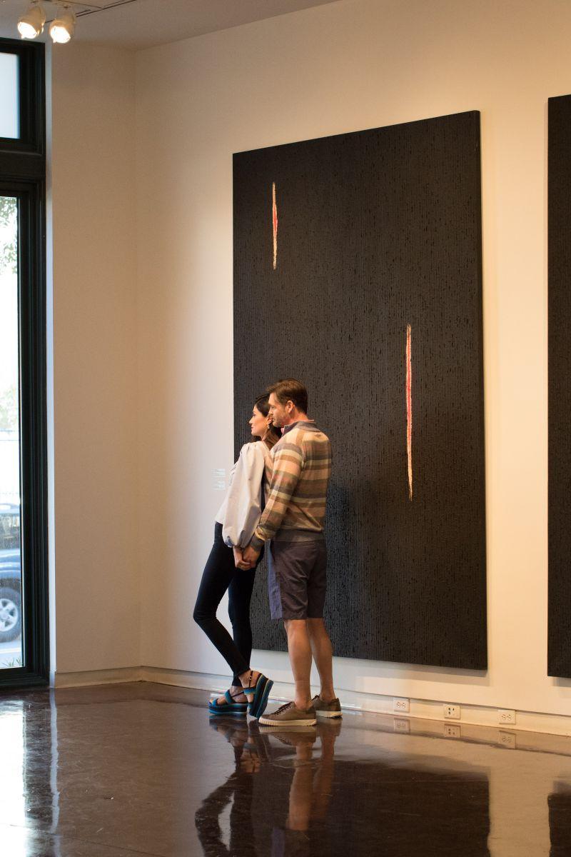 "A visit to the Halsey Institute of Contemporary Art during Cuban artist Roberto Diago's exhibition, ""La Historia Recordada"""
