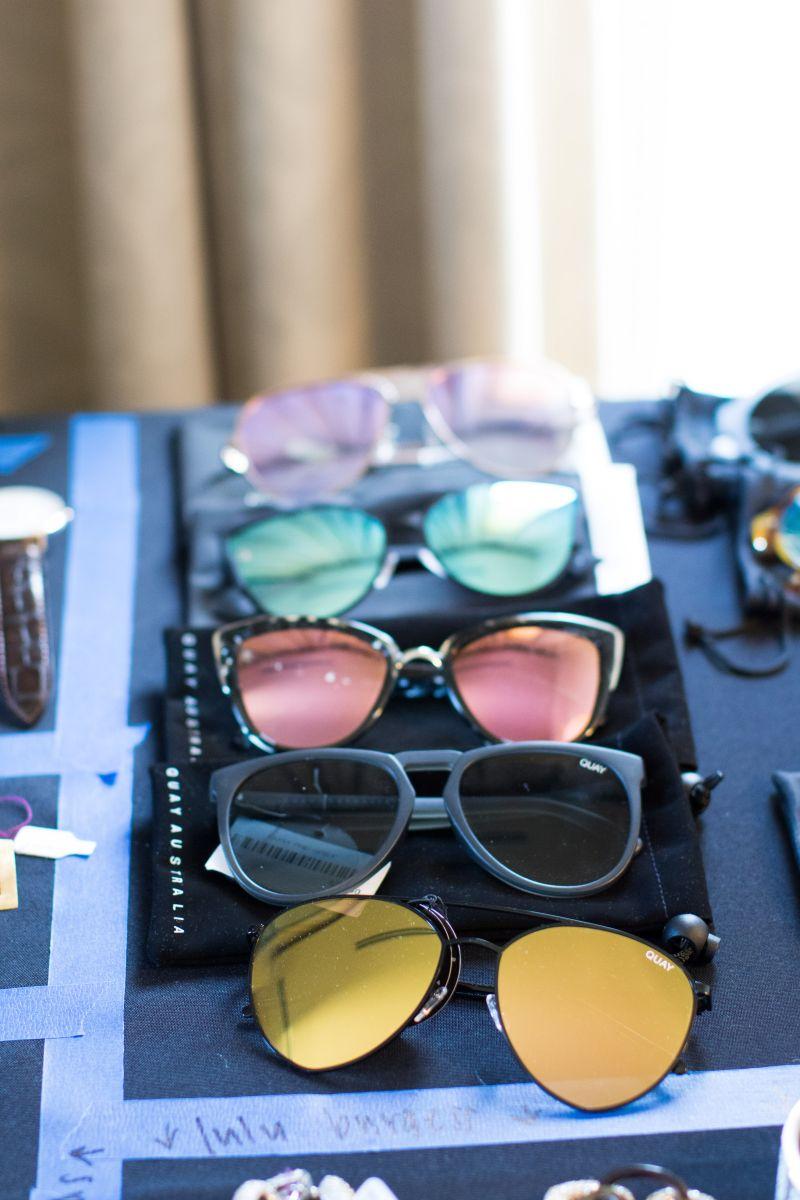 and sunglasses galore.