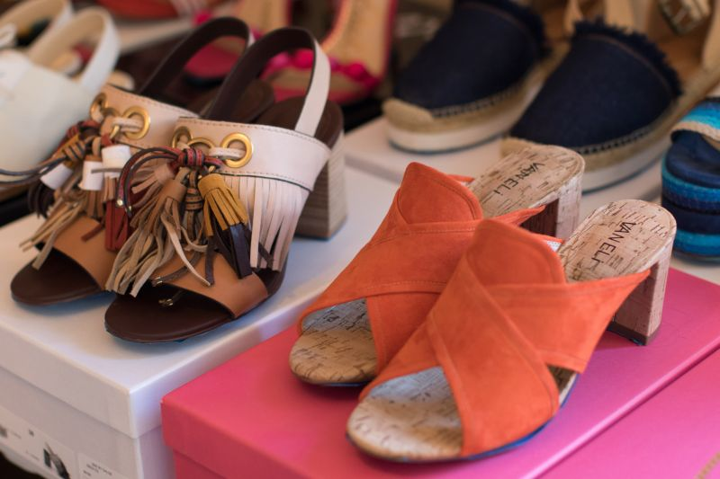 sandals,
