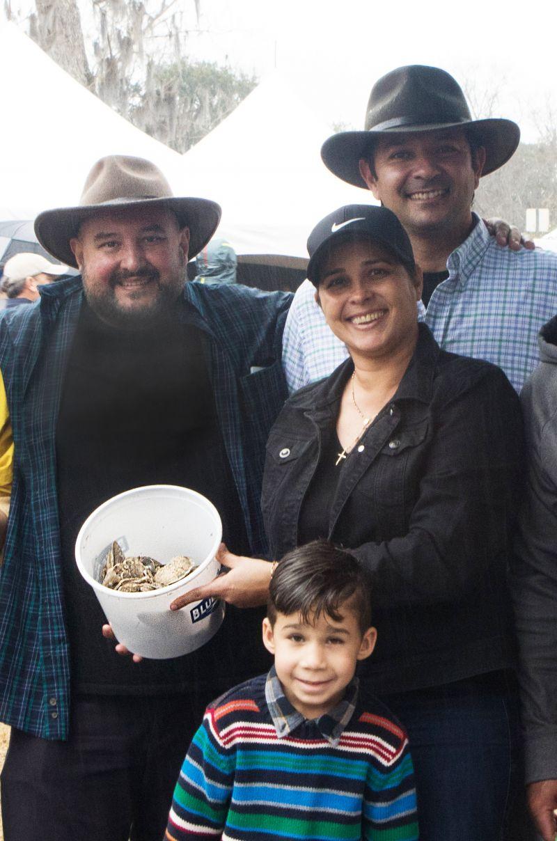 Valney Joda, Leandro and Renata Palagano, and Gustavo Furtado