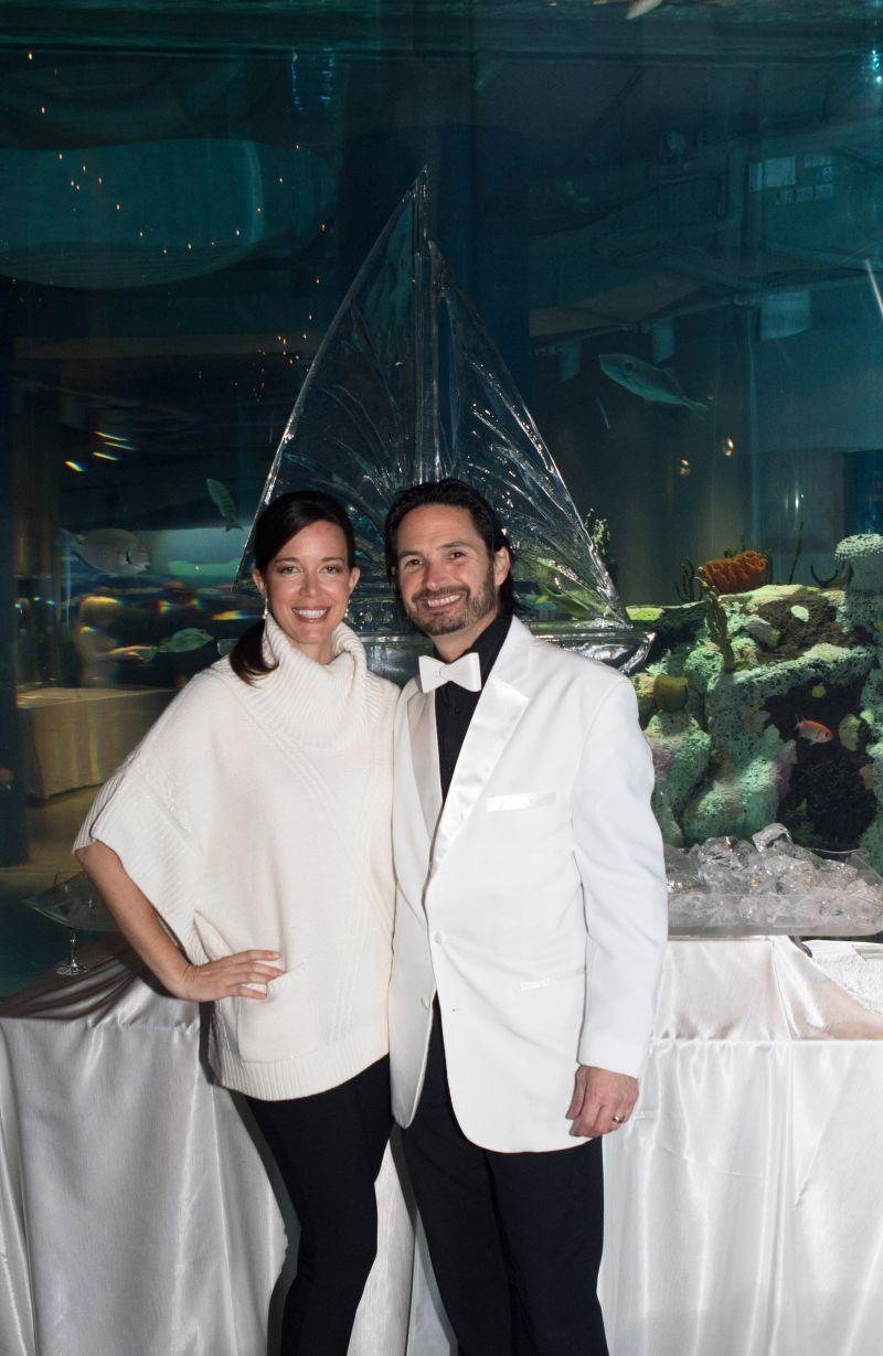 Caroline and Paul Nuñez