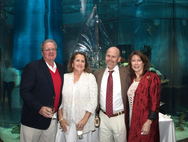 Larry and Nancy Yongberg with Mark and Barbara Evans