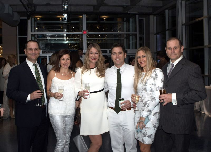 Dan and Lisa Bussinelli, Sarah and Nathan Murray, and Carey and Sean Tipple
