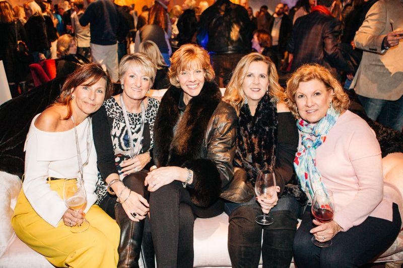 Susan Knoy, Gina Linkous, Tiffany Takacs, Tracey Chalkley, and Kathy Higgins