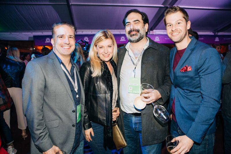 Mark Leon, Kristen Krause, Jonah Jeter, and Boomer Oyler