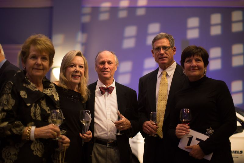 Faye Griffin, Mary and Larry Davis, Stuart Hotchkiss, and Claudia Porter