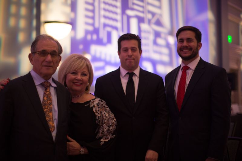 Dr. Robert and Jane Miller, Michael Smith, and Daniel Neikirk