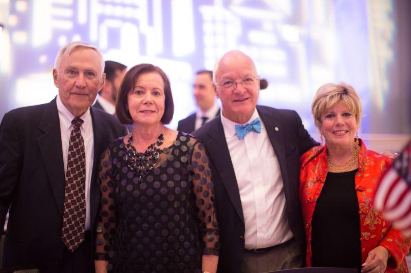 Ken Ingram, Patti Tully, Ron Schildge, and Lyn Magee