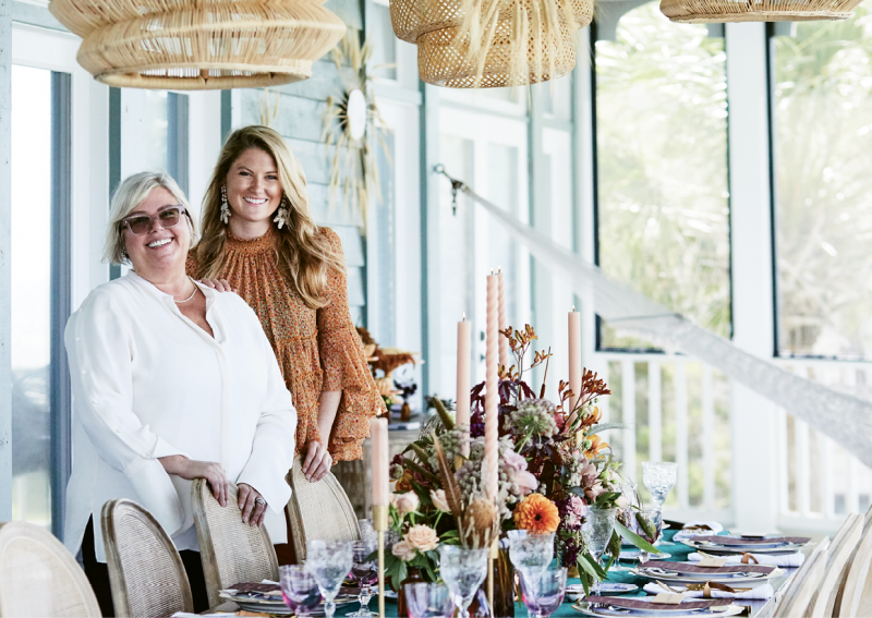 Lisa Thomas and Mary Kathryn McConaghy of Ooh! Events...