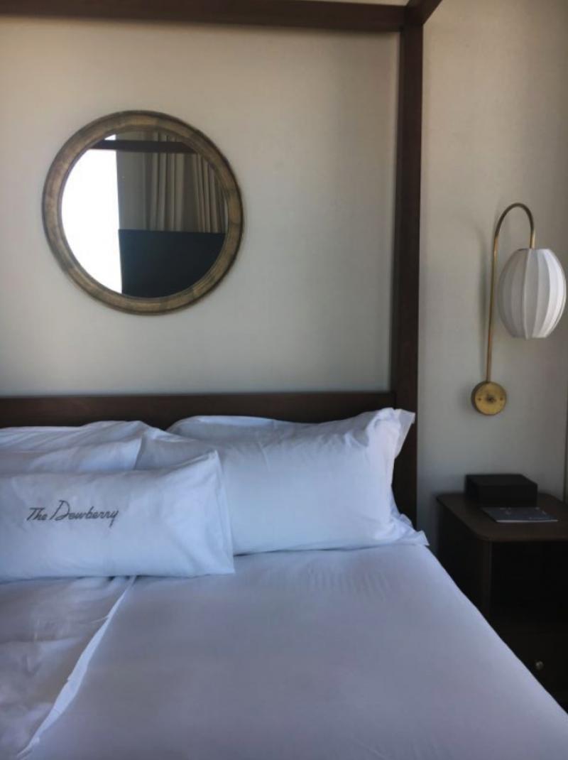 Next backdrop: a guest suite