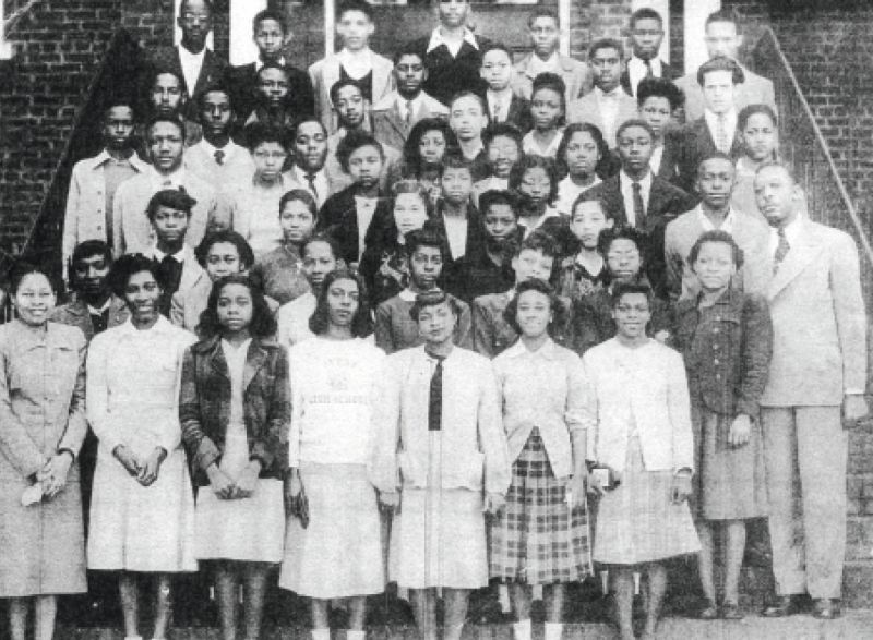 Education was a priority in the Martin household, and Martin-Carrington excelled at Avery High School (then a private school for black students), graduated early, and went to college before joining the Army; with the Avery High School Class of 1947