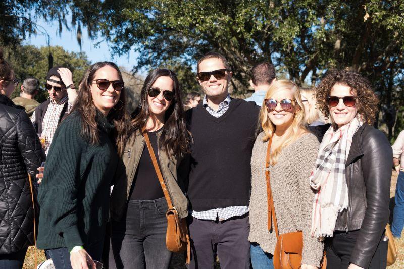 Jennifer Waggoner, Jill France, Brady Waggoner, Jessica Slaughter and Romina Frank