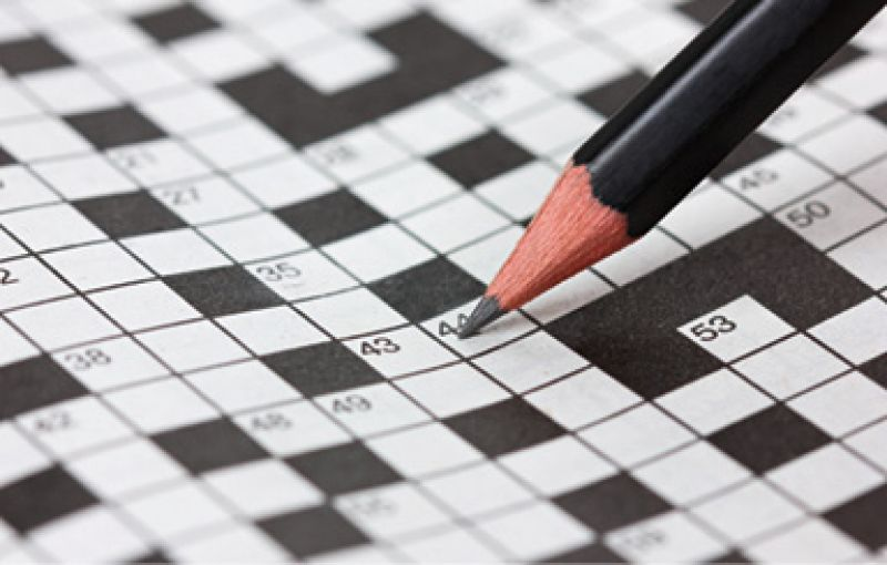 """Across the Board: """"I'm a total nerd, and I do crosswords every morning while I drink my coffee. My dad e-mails me The New York Times puzzle each day."""""""