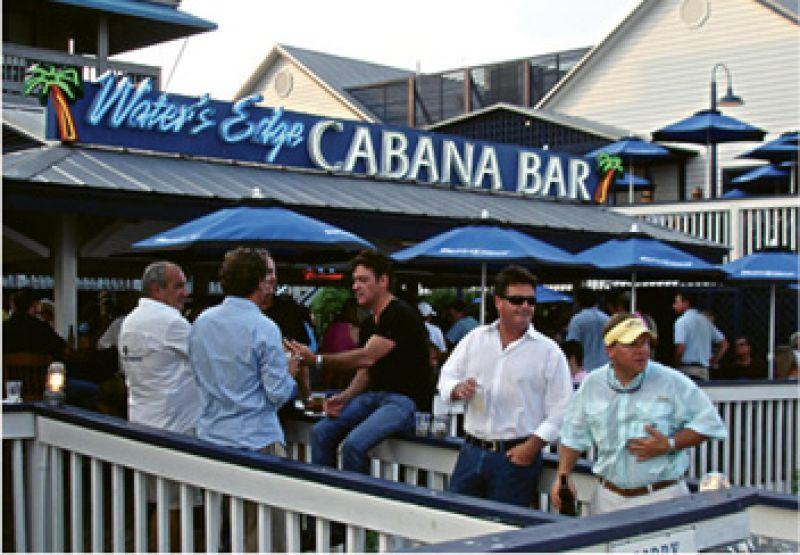 "Happy Hour: ""I like to go to Water's Edge on Shem Creek, sit by the water, and drink a cold one. """