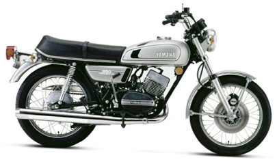 "Joy Ride - ""I have a 1975 Yamaha RD350. It's a widow maker—it carries a lot of power for its weight."""